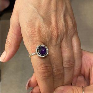 Pandora Amethyst Ring 💜